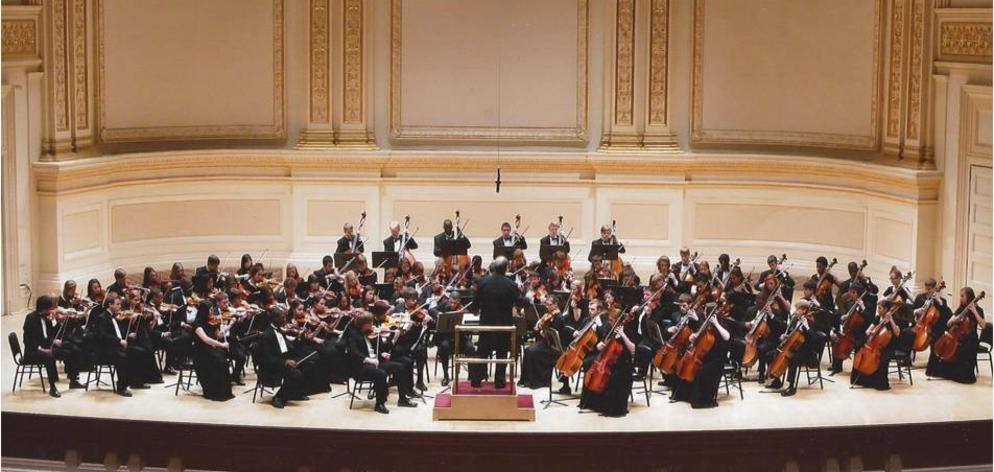 Western Branch Orchestra at Carnegie Hall